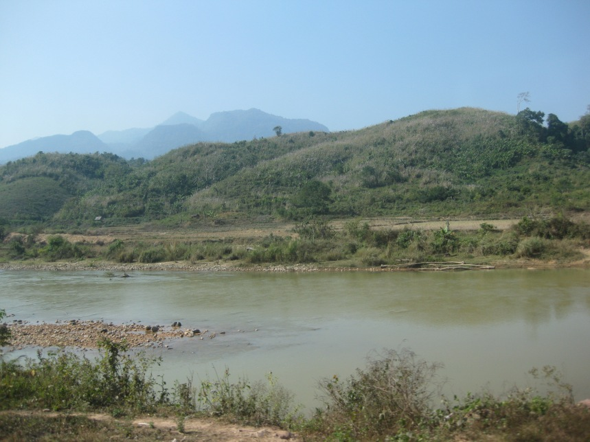 The Lao countryside